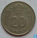 Hongarije 20 forint 1982