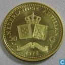 Netherlands Antilles 50 gulden 1979