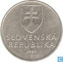 Slovaquie 2 korun 1994