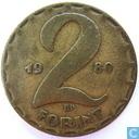 Hongrie 2 forint 1980