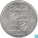 Tschechoslowakei 10 Haleru 1991