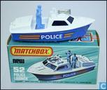 Voitures miniatures - Lesney /Matchbox - Police Launch Boat