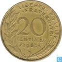 France 20 centimes 1964