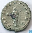 Roman Imperial Antoninianus of Emperor Gordian III 238-239 AD.
