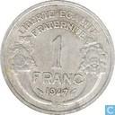 Frankrijk 1 franc 1947 B
