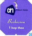 Tea bags and Tea labels - Albert Heijn - Bosbessen