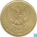 Indonesia 500 rupiah 2000