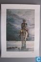 VERKEERDE RUBRIEK --> STRIP-EXLIBRIS/PRENT Comanche: Le Corps d'Algernon Brown