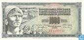 Joegoslavië 1.000 Dinara 1974