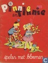 Bandes dessinées - Titounet et Titounette - Pinnie en Tinnie spelen met bloemen