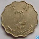 Hong Kong 2 dollar 1993