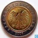 Poland 5 Zlotych 2009
