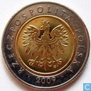 Polen 5 zlotych 2009