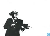 B090368 - Aap met gun