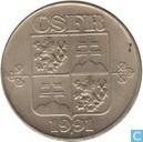 Tschechoslowakei 2 Koruny 1991 (kremnica)