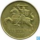 Litauen 20 Centu 2007