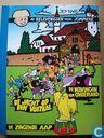 Strips - Jommeke - De jacht op een voetbal + De zingende aap + De koningin van Onderland