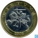 Litauen 2 Litai 2008
