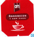 Tea bags and Tea labels - Albert Heijn - Aardbeien