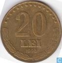 Roumanie 20 lei 1993