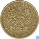 Pologne 2 zlote 1985