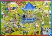 the bandstand. nieuwzeelandse puzzel