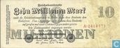Reichsbanknote 10 Million Mark 25/07/1923