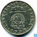 Monnaies - Lettonie - Lettonie 50 santimu 1992
