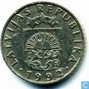Coins - Latvia - Latvia 50 santimu 1992