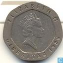 Gibraltar 20 pence 1988 (AD)