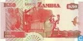 Banknoten  - Bank of Zambia - Sambia 50 Kwacha