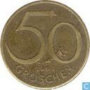 Autriche 50 groschen 1961