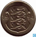 "Estonia 5 Krooni 1994 ""75th Anniversary - Estonian National Bank"""