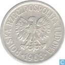 Pologne 20 groszy 1968