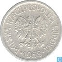 Polen 20 groszy 1968