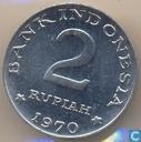 Indonesië 2 rupiah 1970