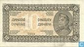 Yougoslavie 10 Dinara 1944