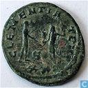 Römisches Kaiserreich Siscia Antoninianus von Kaiser Probus 277 n. Chr.