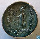 Former King of Greece Drachma Cappadocia Ariobarzanes I Philoromaios 66 BC.