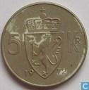Norway 5 Kroner 1972