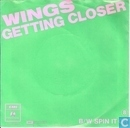 Disques vinyl et CD - Wings - Getting closer