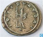Roman Empire Emperor Gallienus Antoninianus of 264 AD.
