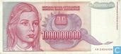 Yugoslavia Dinara 1 billion