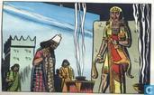 Assurbanipal raadpleegt de sterren