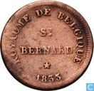 België 1 centime 1833 Monnaie Fictive, Hermiksem