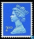 La Reine Elizabeth II, Machin Decimales (Walsall)