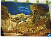 Wandschilderij van droogbloemen voorstellende Matth. 25:1 - 12 It Lytse Slot