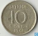 Schweden 10 Öre 1961 (U)