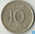 Sweden 10 öre 1961 (U)