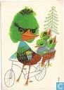 Voor het Kind-vogel met jongen